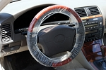 Extra Large Double Elastic Steering Wheel Cover