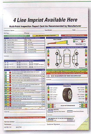 Multi-Point Inspection Form