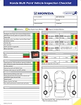 Multi-Point Inspection Forms (Honda)