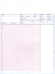 Custom Imprinted Laser Service Invoices