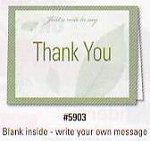 Thank You Cards (Blank)