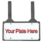 Jiffy Rubber License Plate Holder