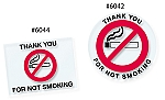 No Smoking Stickers (100)