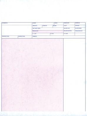 laser service invoices