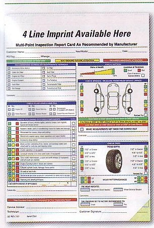 Multi-Point Inspection Form (250)
